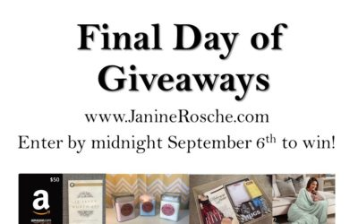 Winners Announced: 5 Days of Giveaways