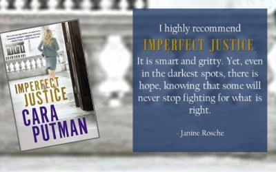 Giveaway and Book Review: Imperfect Justice by Cara Putman