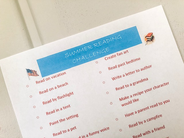 Kids Summer Reading Challenge